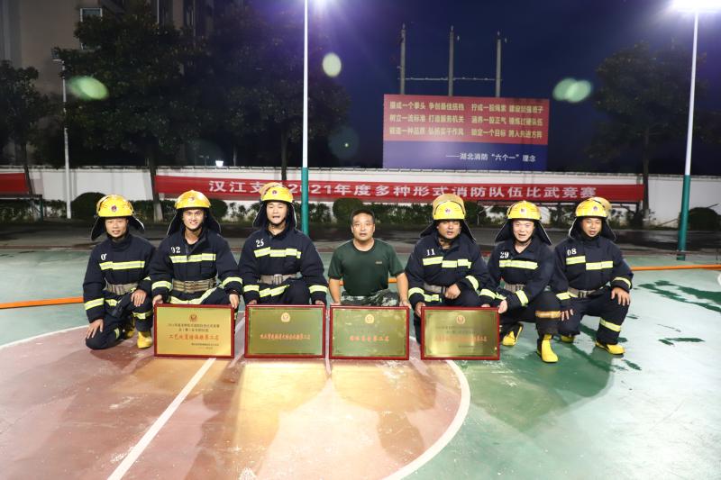 金澳科技在多種形式消防隊伍比賽中喜獲佳績