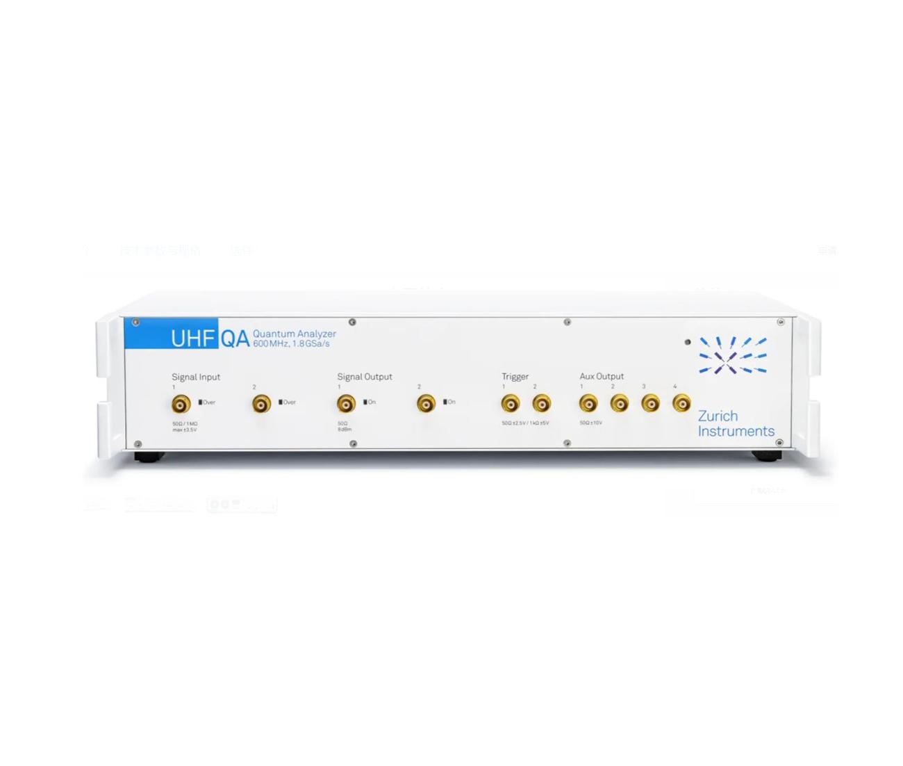 UHFQA 600 MHz 量子分析仪