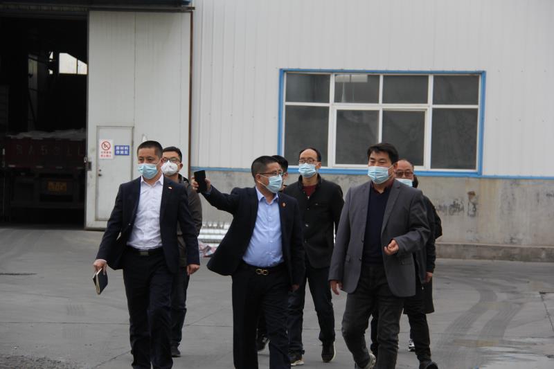 中國鑄協來廠指導