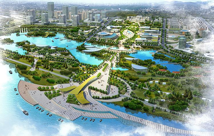 伊宁市伊犁河景不雅带城市设计