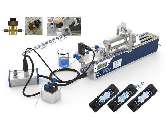 微流控石油驅替系統(可視化研究)