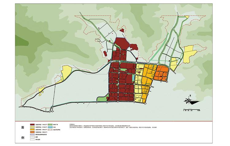 拉萨市主城掌握性详尽规划