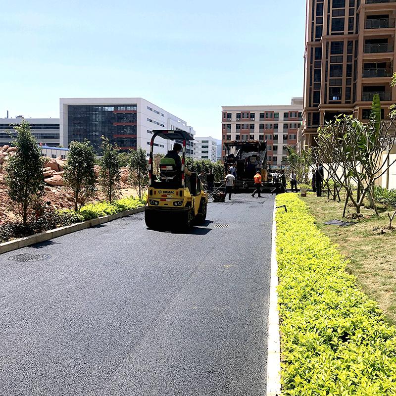 瀝青道路施工