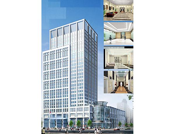 煙臺商城高層綜合樓