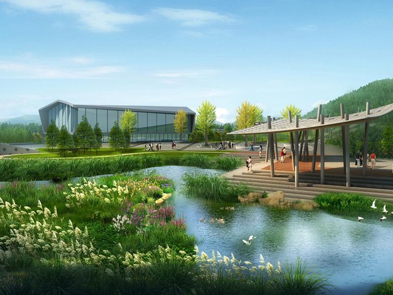 贵州遵义深溪河生态湿地公园
