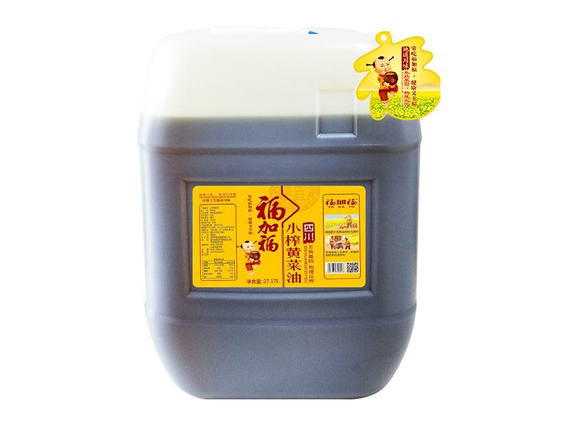 福加福27.17L(小口方桶)小榨黄纬来体育NBA地址