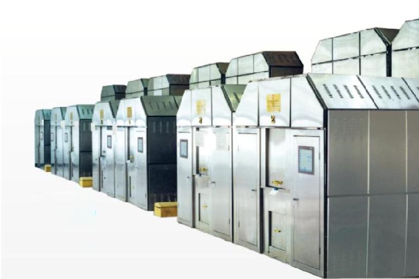 YQ歐亞全自動環保節能3000型高檔火化機