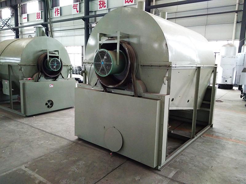 茶叶炒干机6CCT-130燃气式
