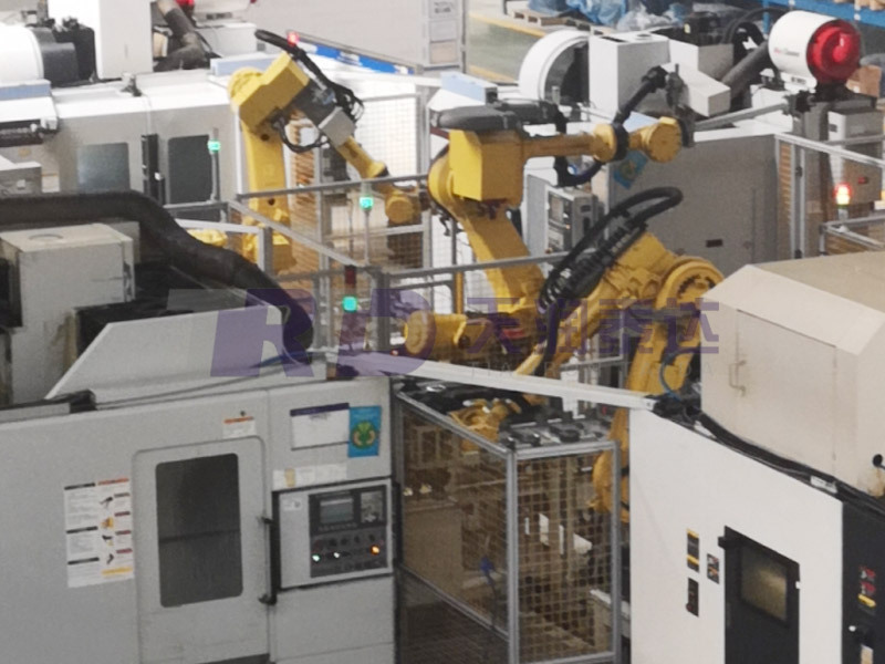再制造機器人廣泛應用于機器人上下料生產線、自動化工作島