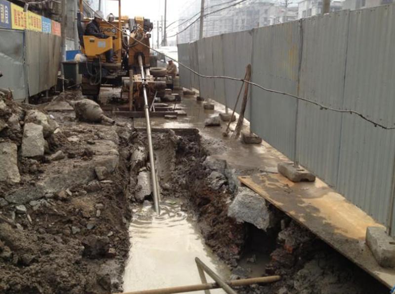 拖拉管 顶管 非开挖管