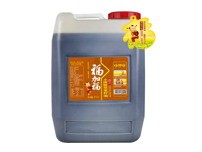 福加福27.17L小榨原浆菜籽油
