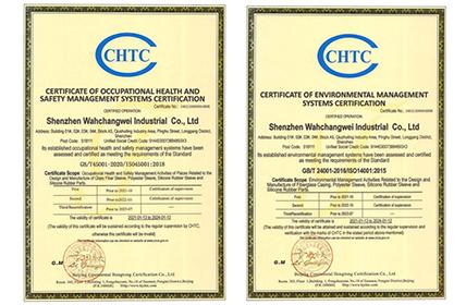 熱烈慶祝我司通過ISO14001:2015環境管理體系和ISO45001:2018職業健康管理體系