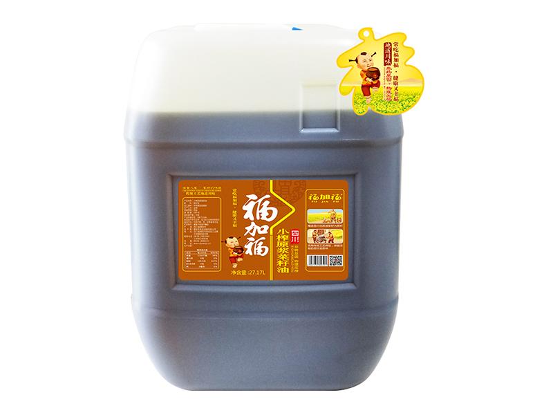 福加福27.17L(小口方桶)小榨原浆菜籽油