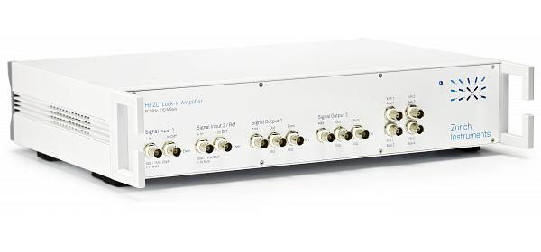 HF2LI 雙通道寬頻鎖相放大器