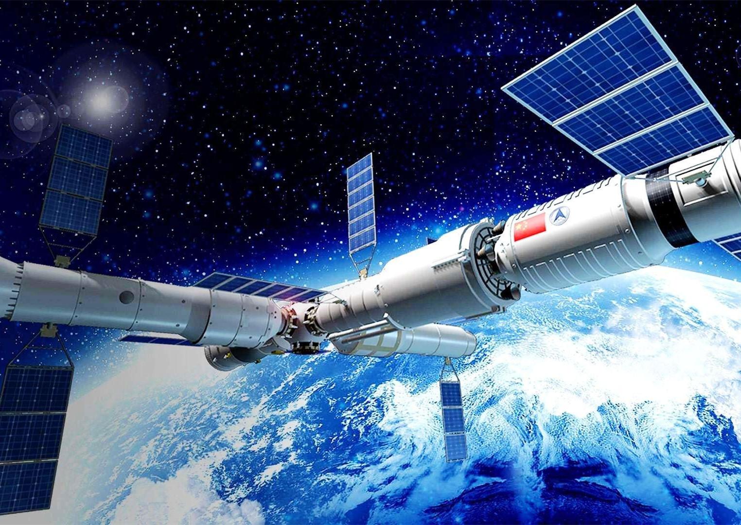 中國空間站在軌建造第二戰打響!長征七號遙三火箭成功發射天舟二號貨運飛船