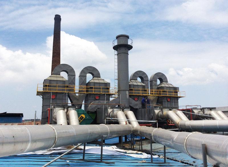 第三代大型組合式廢氣靜電處理裝置
