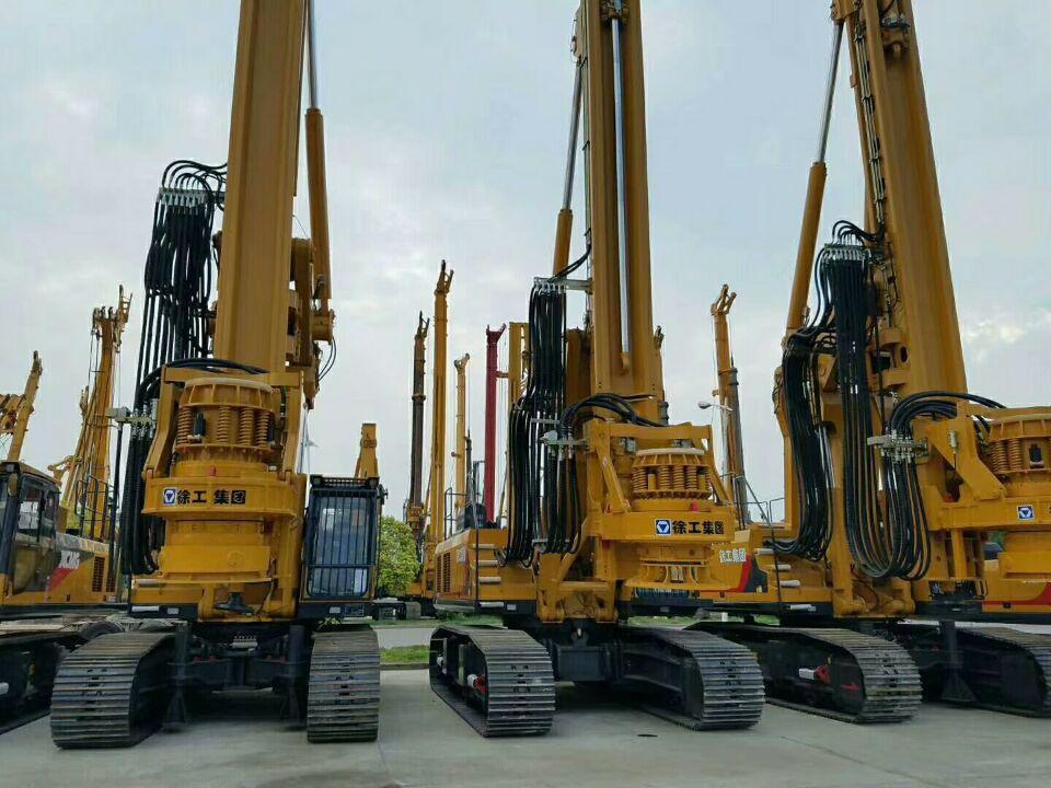 小中大型旋挖钻:吨位、价格相差很大
