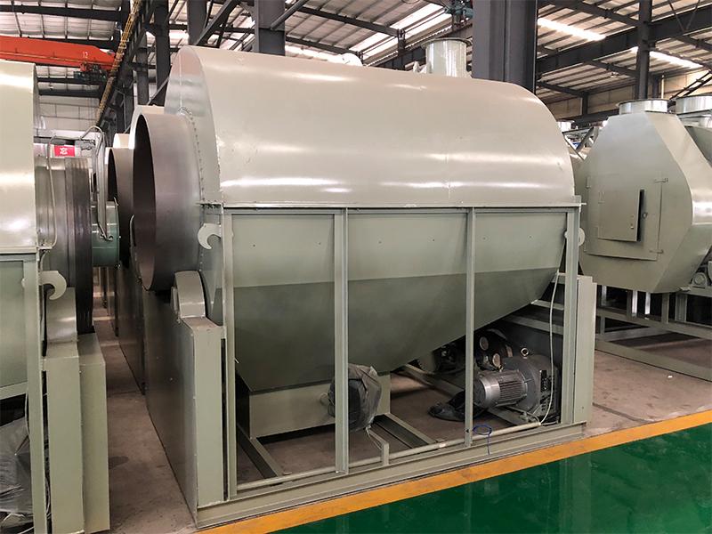 茶叶炒干机6CCT-150B柴煤式