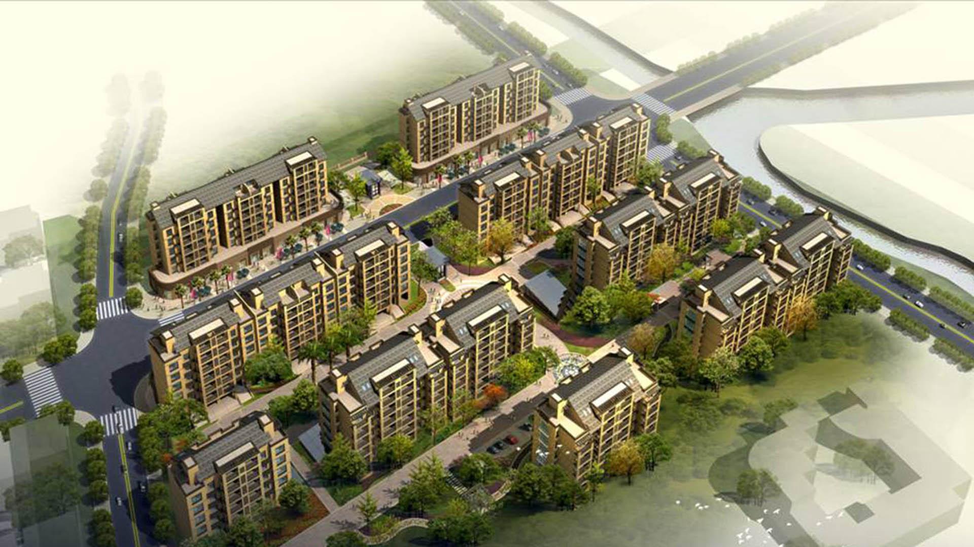 2011--闲林镇民丰村农居小区二标段效果图