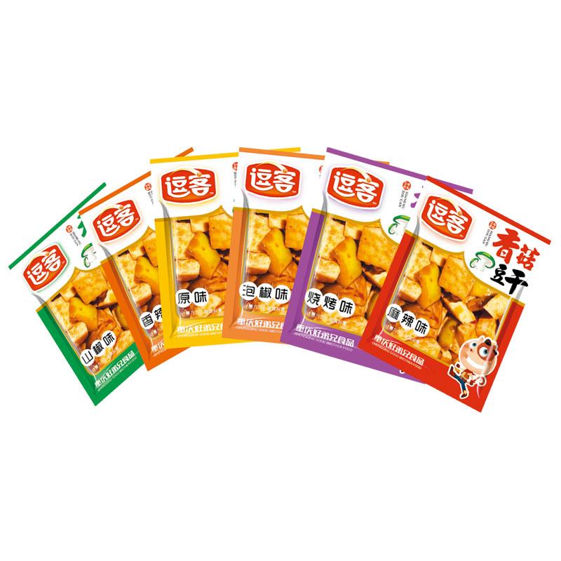 散裝香菇豆干(散裝稱重)麻辣/泡椒/山椒/香辣/燒烤/原味