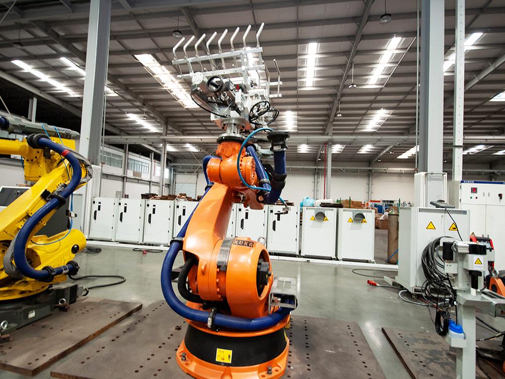 工業機器人的特征