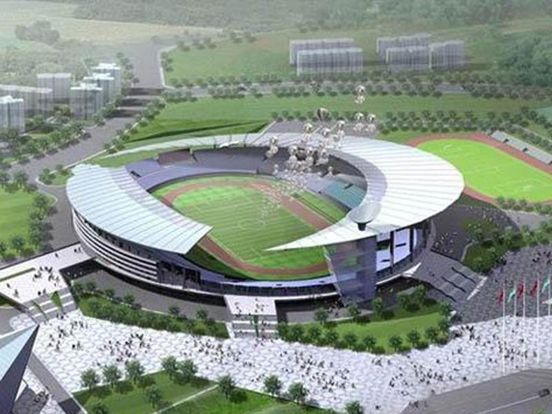 合肥市奧利匹克體育中心工程