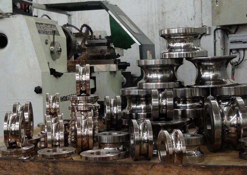 不銹鋼制管模具2