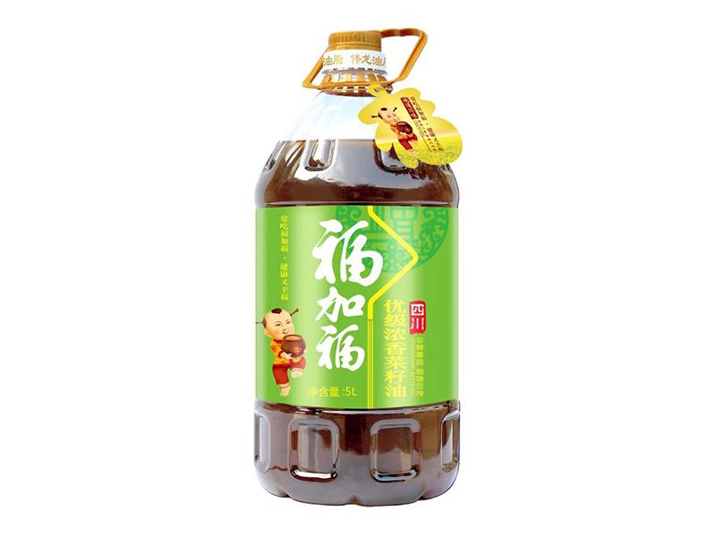 福加福5L优级浓香菜籽油