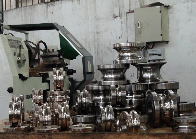 不銹鋼制管模具3