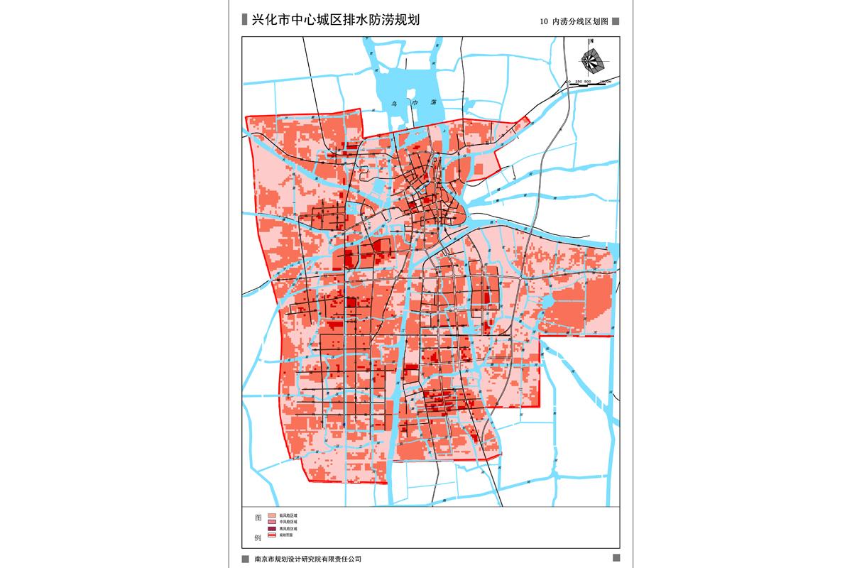 兴化市中心城区排水防涝规划