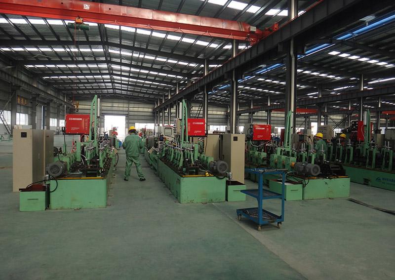 鈦焊管制管機設備4