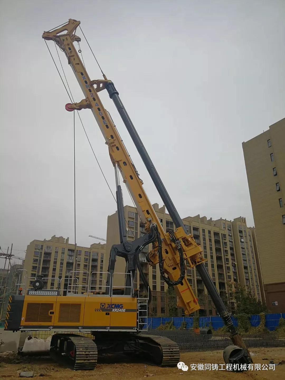 安徽同鑄新增XR160E、XR240E等多臺設備,隨時接受租賃預訂