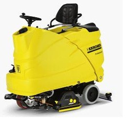 駕駛式全自動洗地吸干機