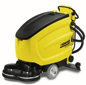 手推式盤刷型自動洗地吸干機