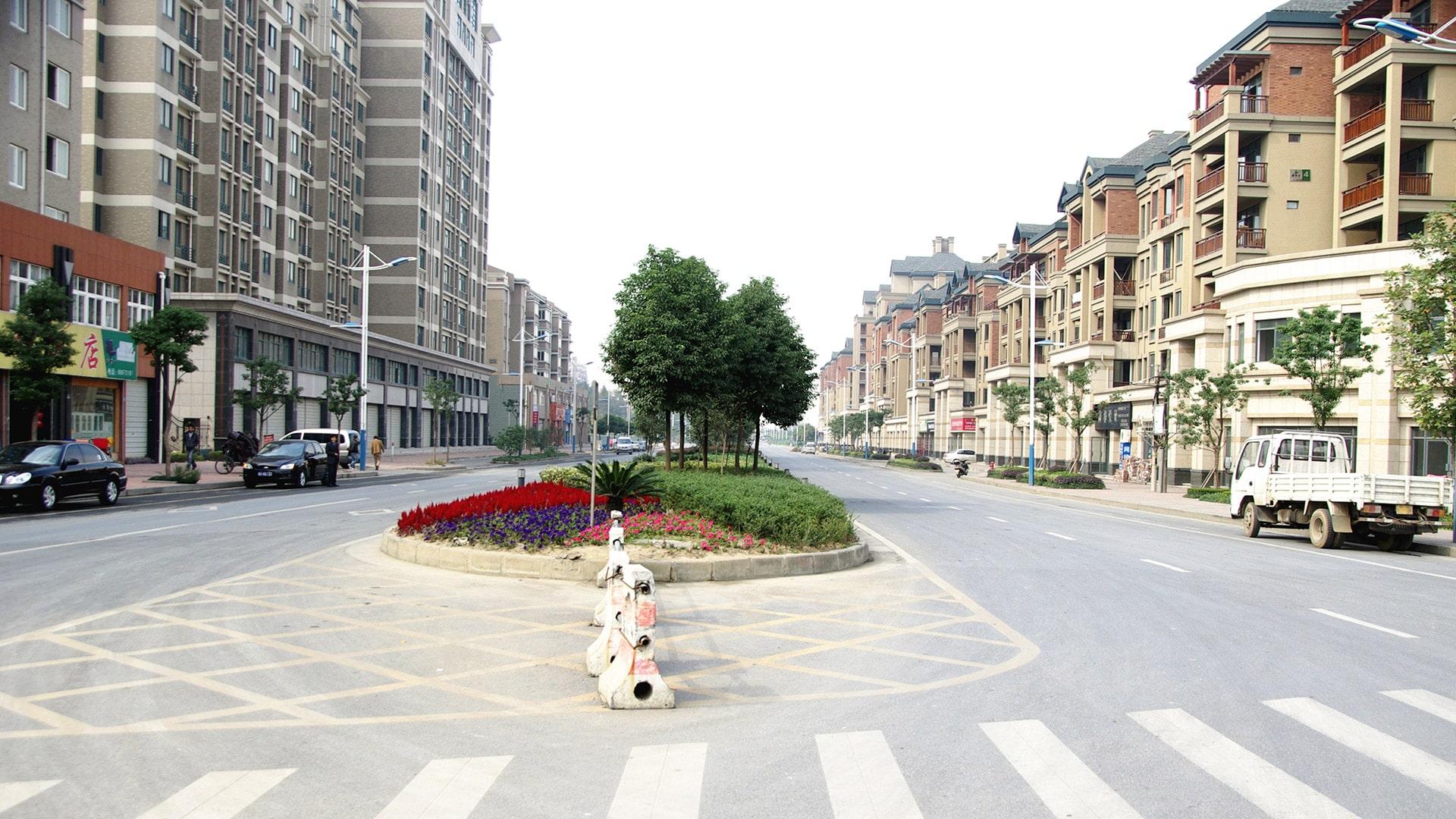 余杭镇城南路工程