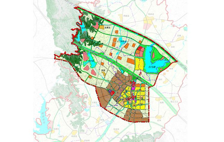 溧水县白马新市镇总体规划(2011-2030)