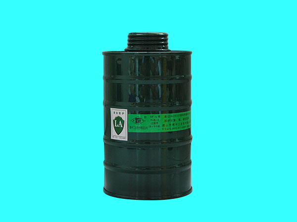 P-K-3(原4號中罐)自吸過濾器防毒面具過濾件