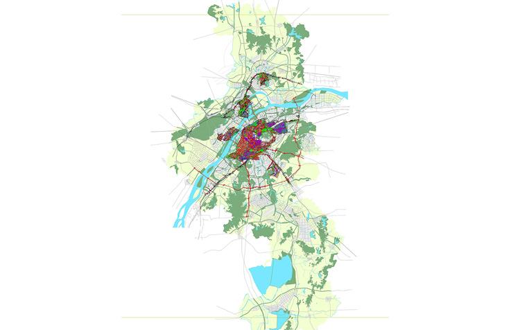 """南京市城市规划六线""""一张图""""办理与动态更新"""