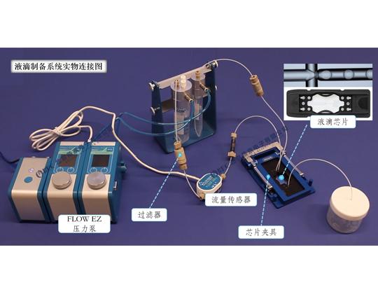 微流控液滴制備系統