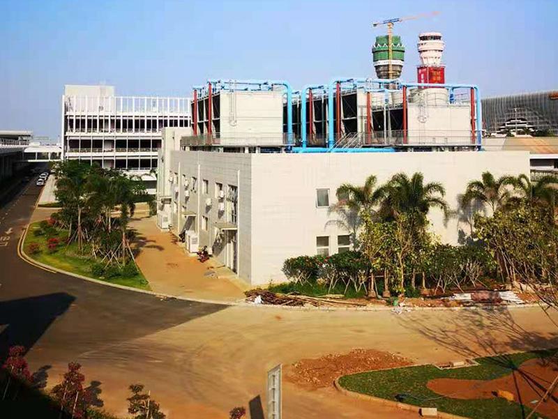 ??诿捞m國際機場二期擴建工程-制冷站工程