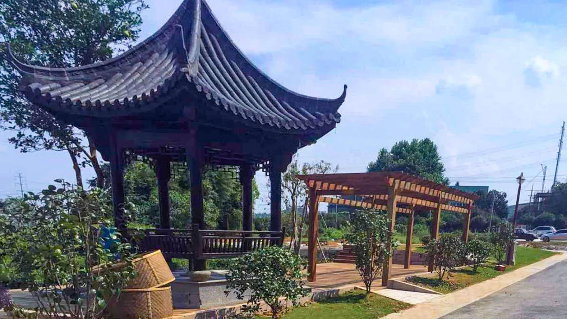 2016--龙坞茶镇建设工程—慈母桥村庄整治工程