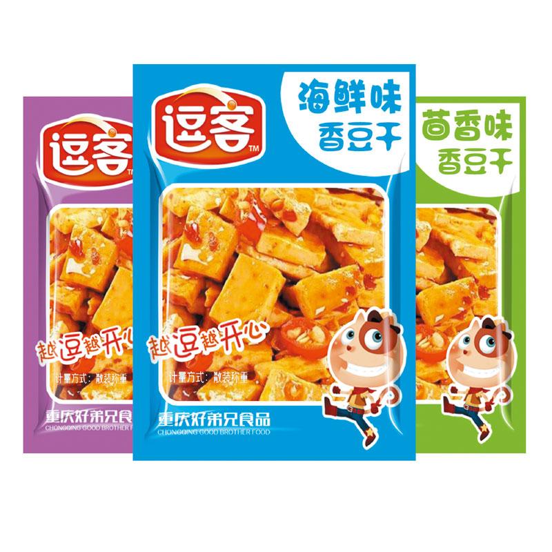 散裝香豆干(散裝稱重)香辣/燒烤/五香/醬香/海鮮/香蔥/雞汁/牛汁/麻辣/山椒/泡椒