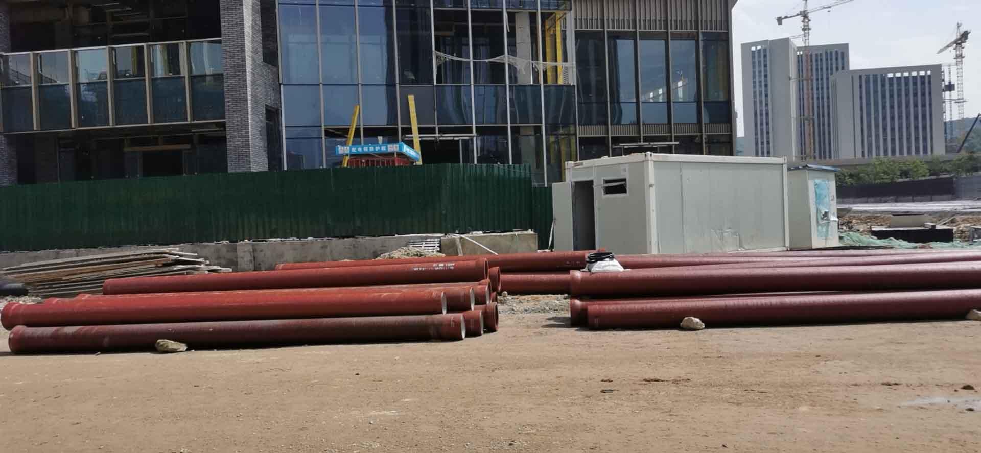 福建融通管业有限公司代理的球墨铸铁污水管应用于樟岚路项目之中...
