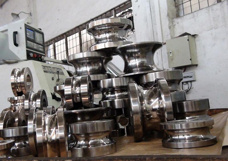 不銹鋼制管模具5