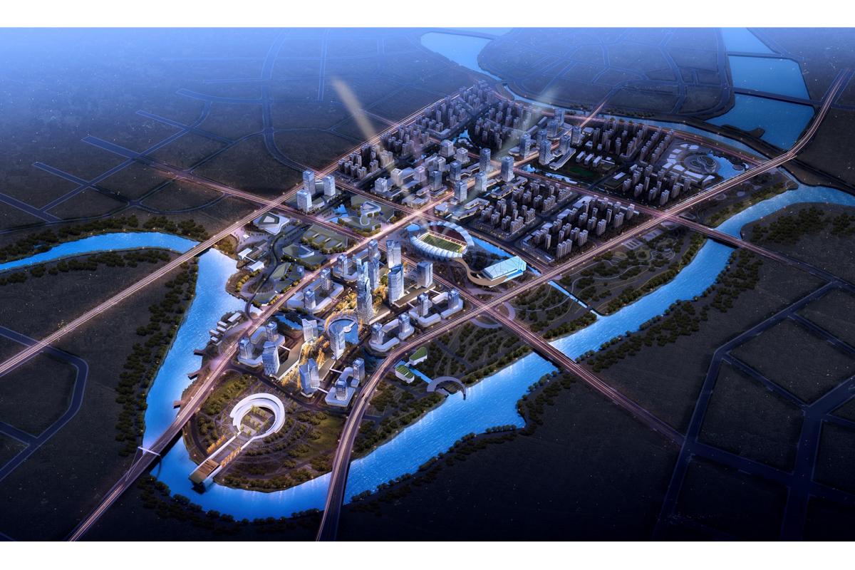 无为县城城中新区城市设计