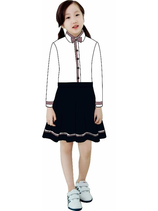 小学女生秋装礼仪服