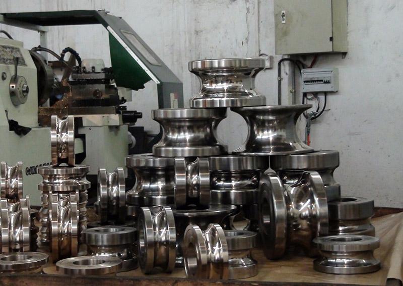 不銹鋼制管模具1