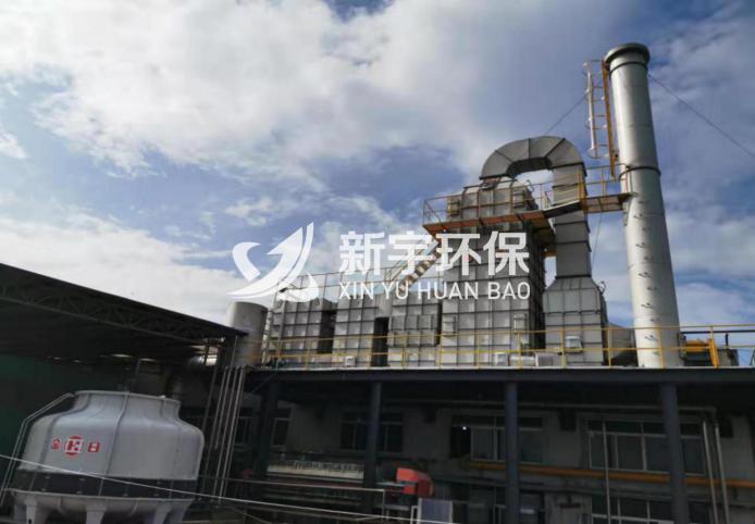 第六代大型組合式廢氣六級靜電處理裝置