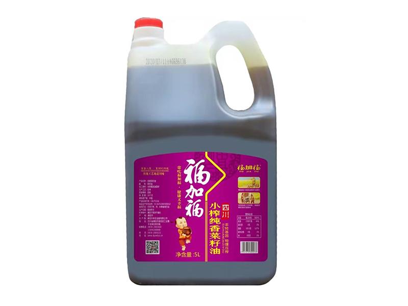 福加福5L(PE)小榨纯香菜籽油