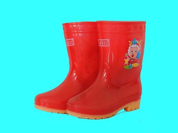 注塑彩筒靴